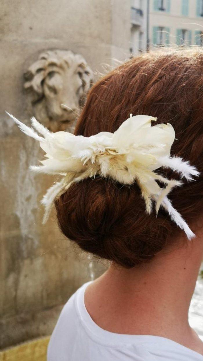 coiffure mariage fleuriste saint cloud le Chapelin Fretz