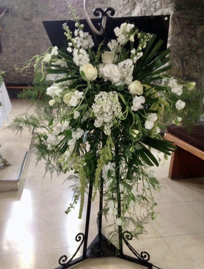 église mariage Saint Cloud le Chapelin Fretz fleuriste