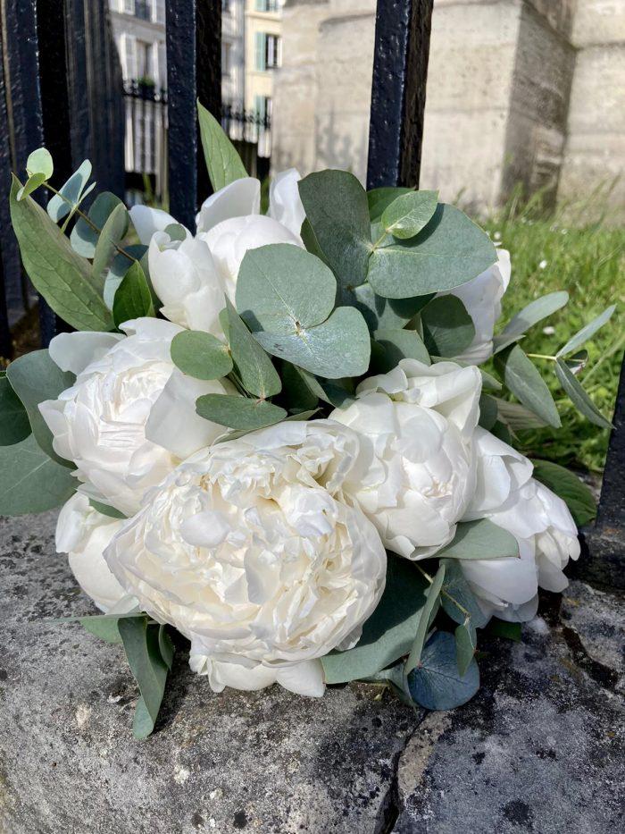 bouquet mariage fleuriste saint cloud